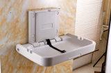 Tecido em mudança em mudança em mudança de dobramento do bebê da montagem da parede da tabela do bebê da estação do bebê da higiene do Ce para o local de repouso do toalete