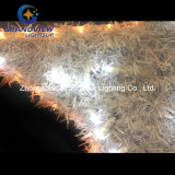 Luzes de piscamento animados da corda do motivo do Natal da estrela do PVC
