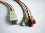 Кабель IEC 6pin 5 Leadwireset ECG Colin Bp-306/Bp88
