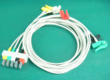 Cable del Leadwire ECG de Philips Snap&Clip 5