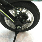 Цветастый электрический складной велосипед
