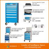 Gabinete de ferramenta de aço resistente da gaveta da bancada