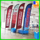 Bandeiras de praia da alta qualidade 3m, anunciando as bandeiras de praia do evento (JTAMY-2015120508)