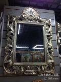 熱い販売のホーム装飾のための樹脂によって組み立てられる壁装飾的なミラーの卸売