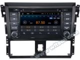Carro DVD GPS do Android 5.1 de Witson para Toyota Yaris 2014 com sustentação do Internet DVR da ROM WiFi 3G do chipset 1080P 16g (A5752)