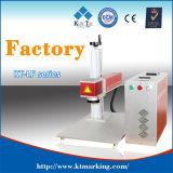 20W 플라스틱, Laser 표하기 시스템을%s 싼 Laser 표하기 기계