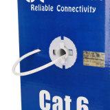 O gigabit do cabo de LAN 305m de UTP CAT6 Solha-Passou a ponto de entrada o branco compatível