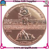 Anunciou a moeda militar com gravura do logotipo 3D