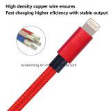 Оптовая продажа высокого качества для кабеля металла iPhone 6 Braided Nylon