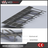 Panneau solaire de vente fou de rail de support (MD0157)