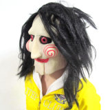 Canival Realistic Awesome Mask Full Head Rubber Latex Horror Mask für Halloween Day