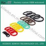 Отлитые в форму плоские резиновый колцеобразные уплотнения силикона