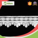 Cordón pesado del producto químico de la tela del cordón de la cuerda del cordón soluble en agua