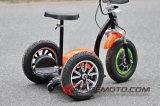 10 pulgadas 500W / 800W 3 ruedas Scooter eléctrico con asiento