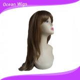 Parrucca sintetica dei capelli dei capelli di colore più lungo della miscela
