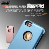 2 dans 1 caisse colorée de téléphone portable de nouvelle conception du PC TPU