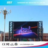 160X160mm 모듈을%s 가진 공항/호텔을%s 1/4의 검사 P10 1r1g1b 옥외 광고 LED 디지털 게시판