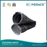 Tessuto filtrante nero resistente del fumo del condotto di scarico della vetroresina del riscaldamento eccellente
