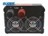 Invertitore di corrente alternata di CC 220V dell'invertitore 12V di Suoer 3000W con Ce&RoHS (HAD-3000A)