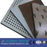 Pannelli di parete acustici perforati di legno di isolamento acustico di Lowes