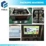 Maquinaria automática da embalagem do saco de chá com Tag e linha