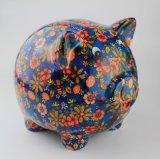 Venta al por mayor maravillosa de la decoración de la batería de cerámica del dinero del buho