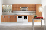 2015新しいデザイン白いPVC台所家具