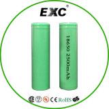 Bateria do polímero do lítio da venda por atacado 18650 2500mAh 3.7V