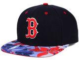 Tampão novo do Snapback de Headwear da forma do chapéu do basquetebol