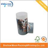 Pappzylinder-geformter Papiergeschenk-Kasten (QYZ068)