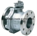 치수 CE 플랜지 볼 밸브 부동