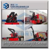 5トン5000のKgのフォールドアームKnucklブームのトラッククレーン