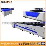 Machine de découpage de laser de fibre de tôle pour la machine de découpage en métal de l'industrie de publicité/laser