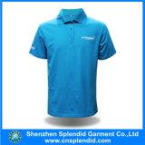 Le fournisseur de la Chine vêtx le polo bleu de chemise de pièce en t d'hommes de coton de mode