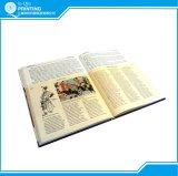 두꺼운 표지의 책 책을 인쇄하는 직업적인 관례