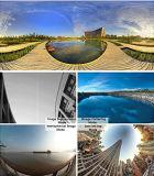 Камера Vr панорамы 360 градусов сферически с свободно карточкой 16g микро- SD на делать 360 видеоий, цифровой фотокамера кулачка портативная пишущая машинка 360 с свободно APP & переходнику держателя