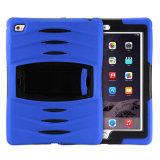 """Caisse combinée antichoc de tablette de Silicone+Plastic Kickstand pour l'iPad 2/3/4/Air/Air 2/PRO 9.7 """""""