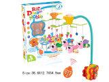 プラスチック電子赤ん坊のおもちゃのベビーベッドのハングのおもちゃ(H0940643)