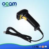 Scanner de código de barras a laser com sensor de mão com suporte (OCBS-LA06)