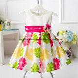 Best-Verkauf der Form-Blumen-reizender Prinzessin-Girls Dress Kids Dress