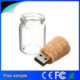 Azionamento promozionale dell'istantaneo del USB della bottiglia di vetro del regalo