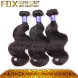 Cabelo indiano de Remy das extensões duráveis do cabelo (FDX-YY-KBL)