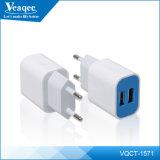 DC 5V 2.1A Atacado empresa / EU Plug carregador móvel Telefone USB