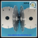 Diamante Vacuum Brazed Diamond Saw Blade per Ceramic Marble Granite Concrete