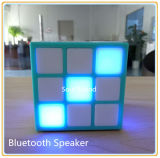 O altofalante o mais novo do diodo emissor de luz Bluetooth do cubo 2016 (ID6025)