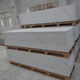 Hojas superficiales sólidas de piedra de acrílico blancas puras del material de construcción para el revestimiento de madera de la pared (161222)