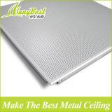 600*600mm Weiß-Farben-Büro-Aluminiumdeckenverkleidung