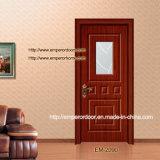 Portello di legno solido della natura, modanatura di legno, portelli