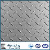 Folha de alumínio gravada 0.7 milímetros para o Anti-Skdding assoalho
