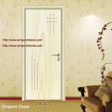 Китайская используемая внешняя деревянная дверь Em-G022